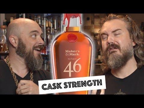 Maker's 46 Cask Strength Bourbon VS Maker's Mark