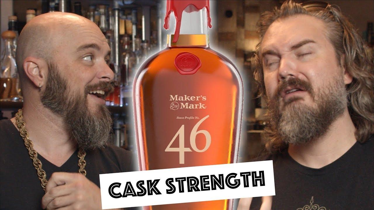 Download Maker's 46 Cask Strength Bourbon VS Maker's Mark