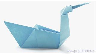 Pájaro de papel muy fácil Animales de Origami