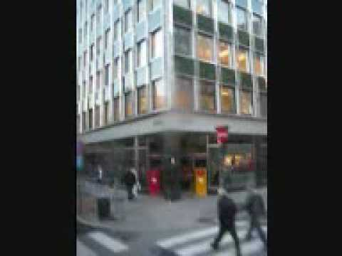 Oslo City Centre Norway - Leaving by bus