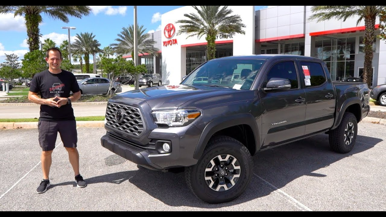 Is The 2020 Toyota Tacoma Trd 6 Manual Guide