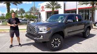Is the 2020 Toyota Tacoma TRD 6-speed manual the BEST VALUE off road TRUCK?