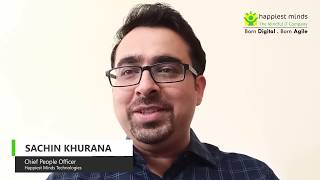 Sachin Khurana, CPO, Happiest Minds Technologies, One of India's Best Companies to Work For 2020.