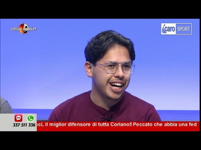 Icaro Sport. Calcio.Basket del 12 novembre - 1a parte