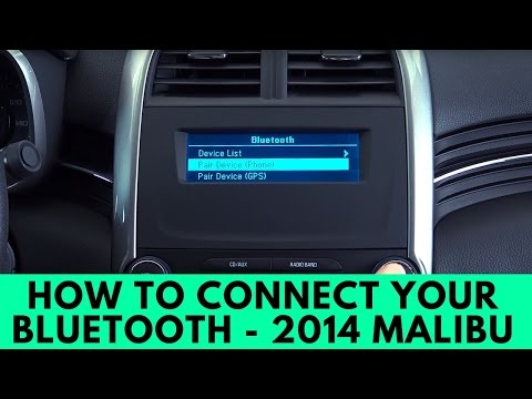 2014 Chevrolet Malibu: How To Connect Bluetooth