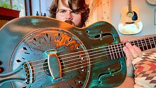 Swamp Dog Resonator Guitar - Recording King - Review