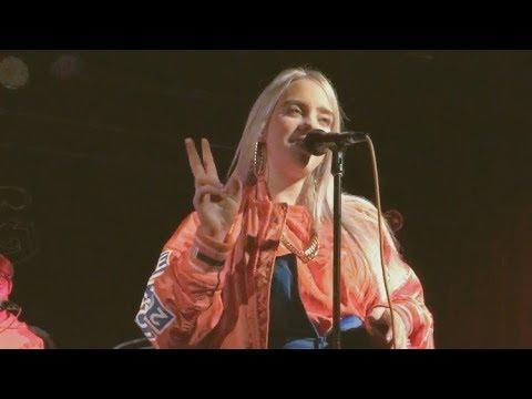 Billie Eilish - Idontwannabeyouanymore (live In Auckland Nz)