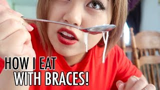 figcaption How I Eat With Braces (then ended up choking lol)