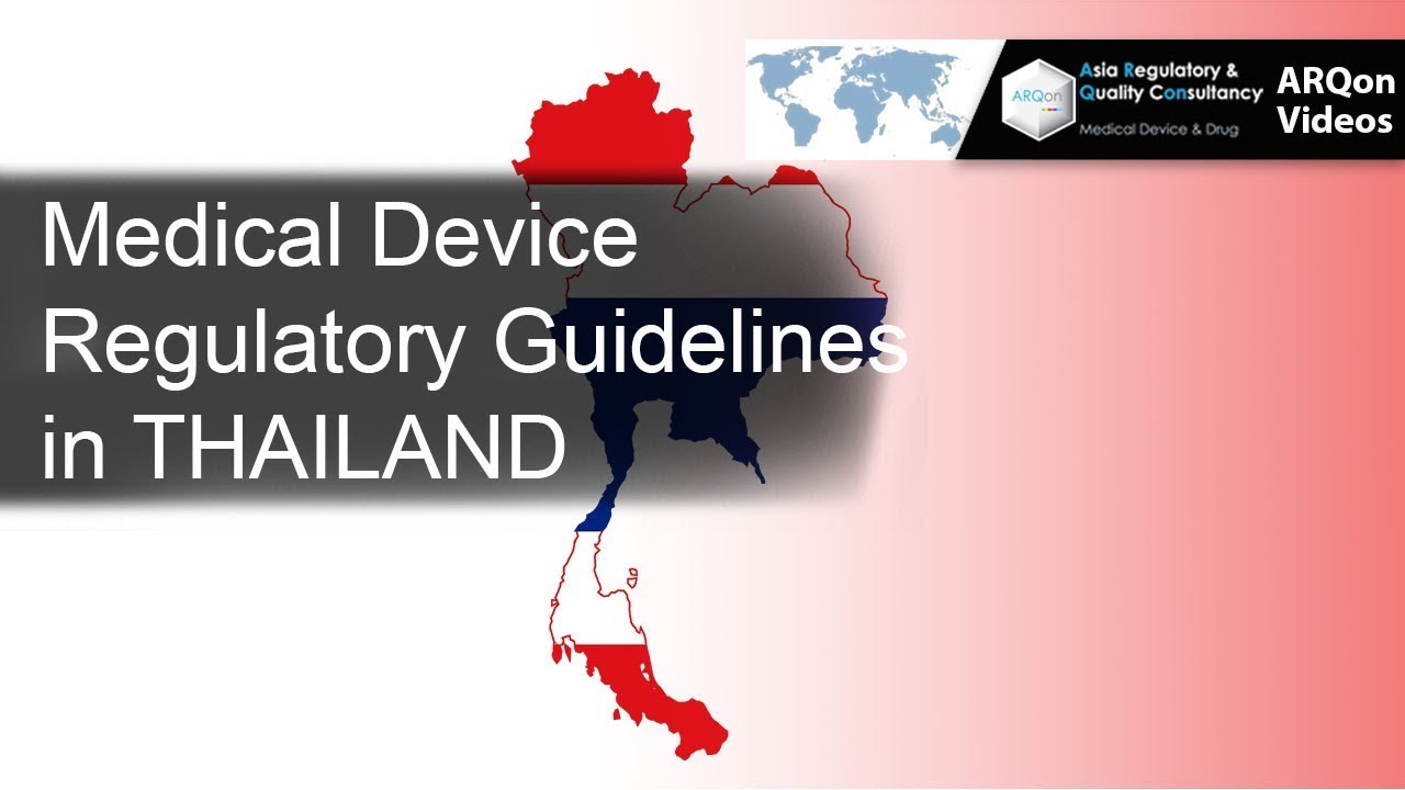 Medical Device Consulting|Registration|Thailand|FDA