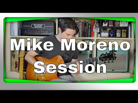 Mike Moreno Guitar Solo Session In Paris