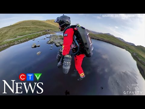 """""""Iron Man"""" jet suit tested for mountain emergency response"""