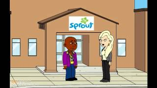Little Bill turns the High School into the PBS Kids Sprout Headquarters