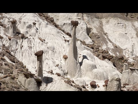 Wahweap & Toadstool Hoodoos, Utah, USA in 4K Ultra HD