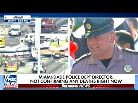 City Officials Press Conference On Bridge Collapse In Florida