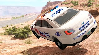 Out of Control Crashes #40 - BeamNG drive