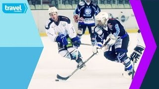 Ice Hockey - Matt Evers on Ice & Snow