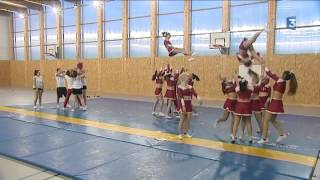Cheerleading : les pom pom girls de Lormont à l