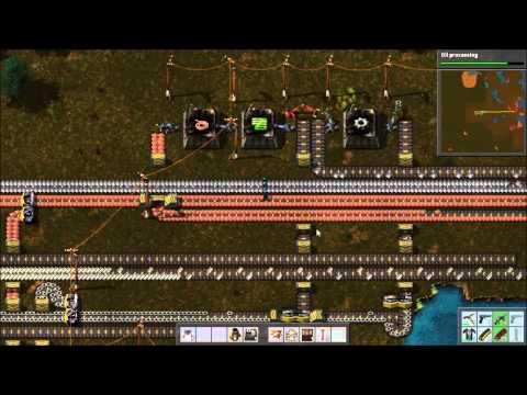 Factorio Railworld Ep#3: Preemptive strike and striking oil