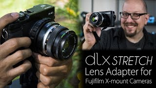 Download Video 3-in-1 Lens Adapter for Fujifilm X-mount Cameras - The DLX Stretch Packs 3 Modes into an Adapter MP3 3GP MP4