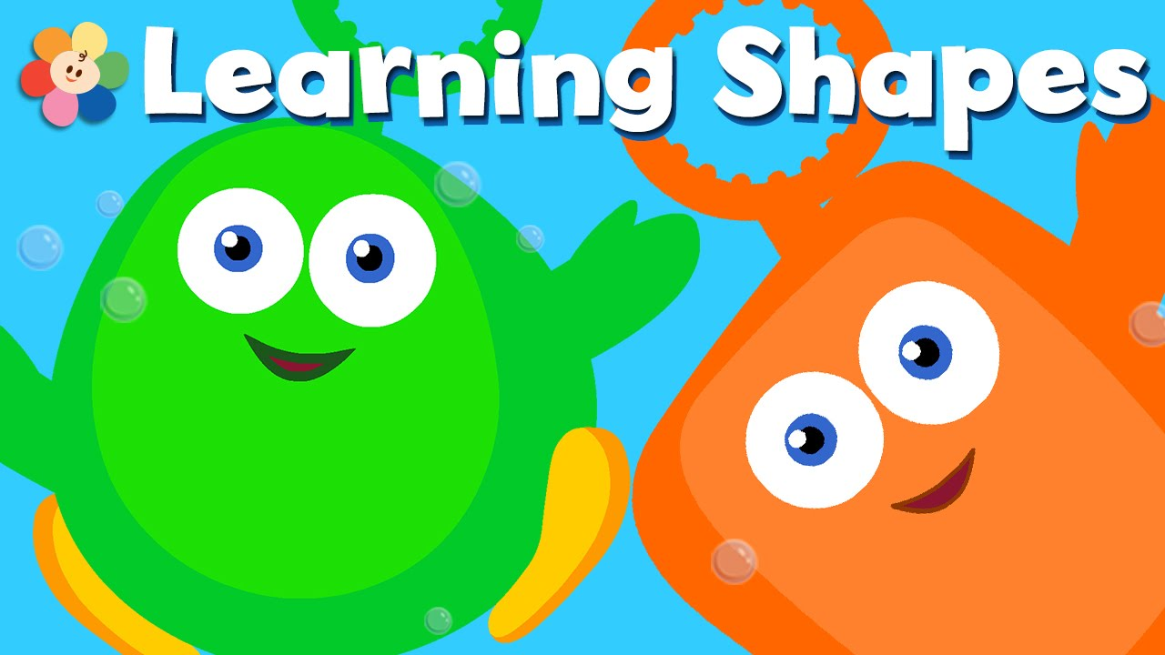 Shapes fun with Bubbles | Learning shapes for kids | Preschool ...