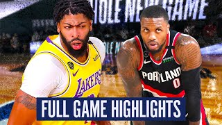 TRAIL BLAZERS vs LAKERS -GAME 2 FULL GAME HIGHLIGHTS | 2019-20 NBA PLAYOFFS