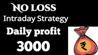 Pre open Market intraday strategy   how to start day trading   intraday tips   