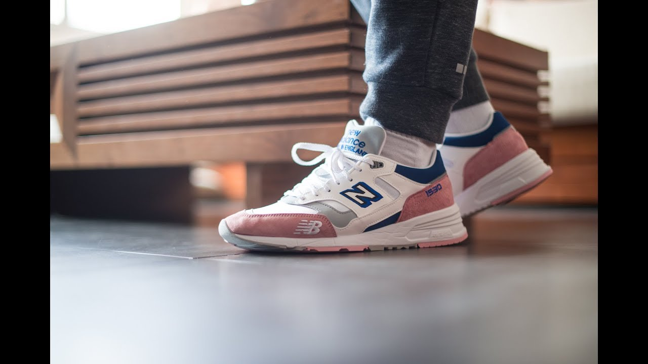 New Balance 1530 White Pink Blue (WPB) review + on-feet ...