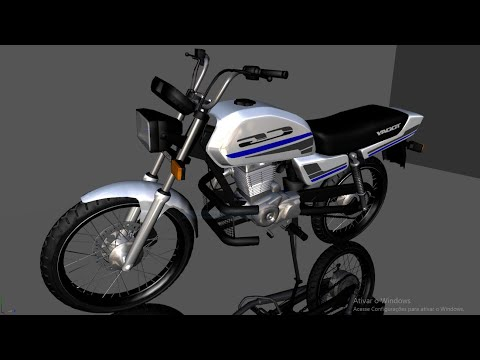 HONDA CG TODAY 150cc | Prata & Azul | PC FRACO & ANDROID | GTA SAN ANDREAS MODS