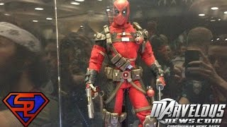 Marvel Comics Sideshow Collectibles San Diego Comic-Con 2014 Display