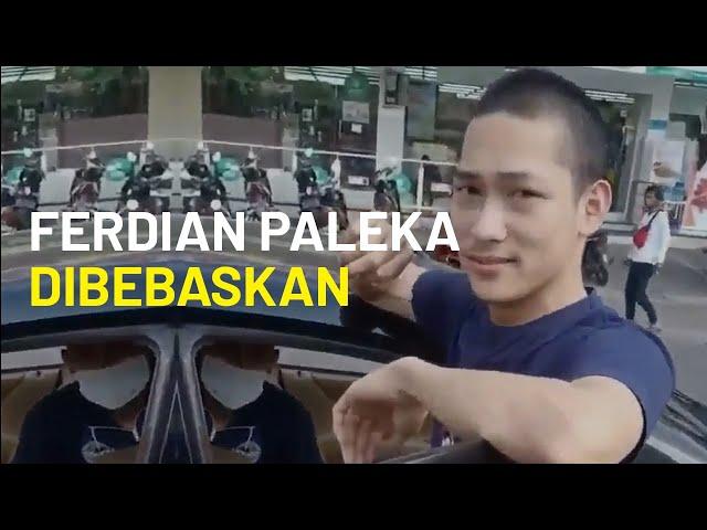 Ferdian Paleka, Pembuat Konten Prank Sembako Resmi Dibebaskan