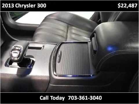 2013 chrysler 300 used cars manassas va youtube. Black Bedroom Furniture Sets. Home Design Ideas