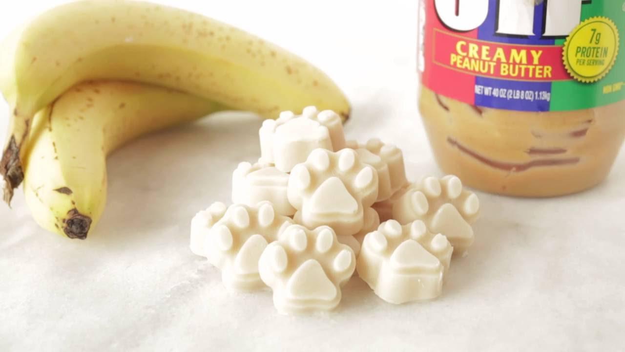 Dog Treats Peanut Butter Banana Recipe