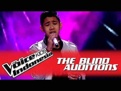 Rafi Love of My Life I The Blind Auditions I The Voice Kids Indonesia GlobalTV 2016