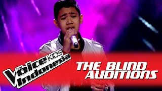 "Download Video Rafi ""Love of My Life"" I The Blind Auditions I The Voice Kids Indonesia GlobalTV 2016 MP3 3GP MP4"