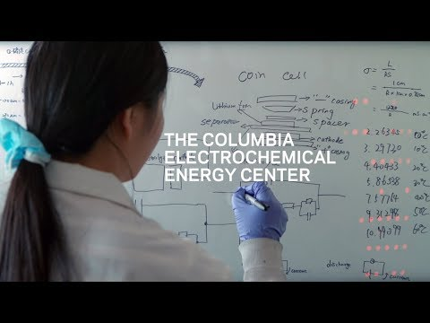 The Columbia Electrochemical Energy Center Launch