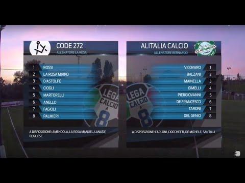 Code 272 9-5 Alitalia Calcio | Serie A - 1ª | Highlights