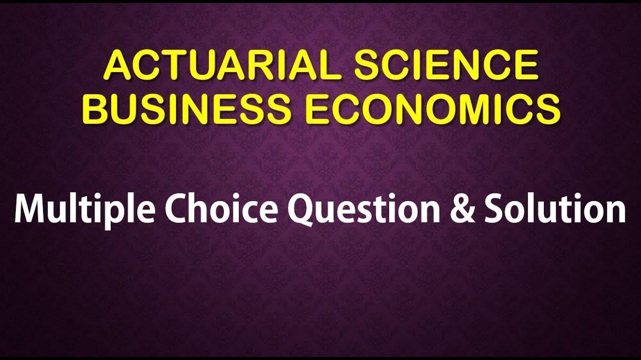business multiple choice