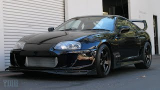TJ Hunt's NASTY Toyota Supra Review! VICIOUS Acceleration!