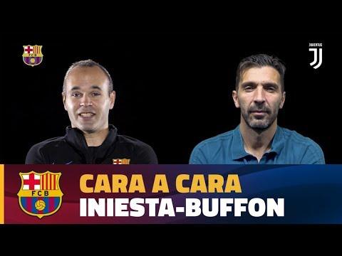 CARA A CARA | Andrés Iniesta vs Gigi Buffon