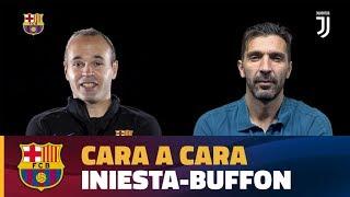 CARA A CARA | Andrés Iniesta vs Gigi Buffon [ESP]