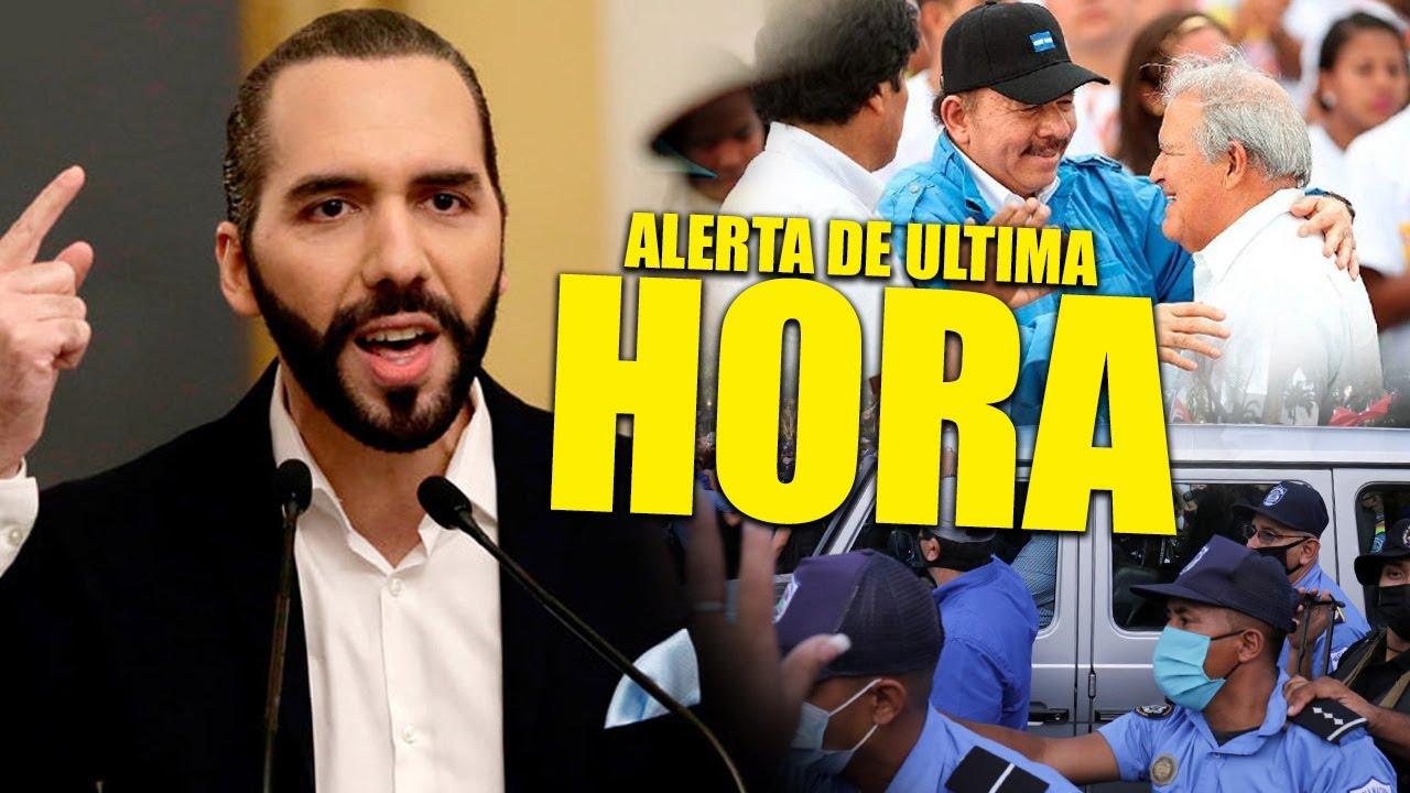 Download Nicaragua no se lo esperaba Bukele amenaza fuertemente a Ortega tras recibir a Sánchez Cerén