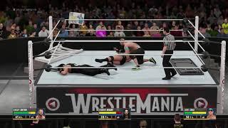 WWE 2K16 (PS4) - Triple Threat Extreme Rules Match (Roman Reigns vs John Cena vs Randy Orton)
