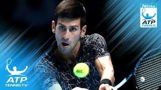 Novak Djokovic backhand masterclass v John Isner | Nitto ATP Finals 2018