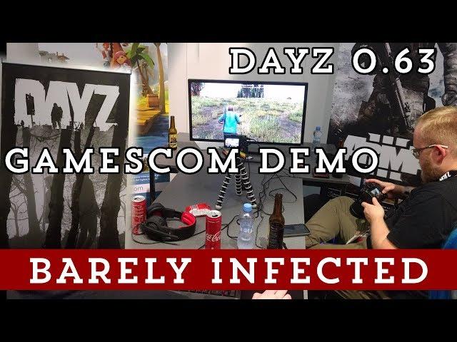 DayZ 0.63 - Gamescom Demo - New Engine!
