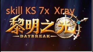 test skill class KS DBO china ( acc XrayVN). daybreak online gameplay