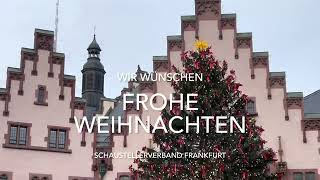Weihnachtsgruß des Schaustellerverbands Frankfurt