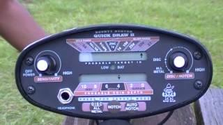 Bounty Hunter Quick Draw II Metal Detector - Demo 2