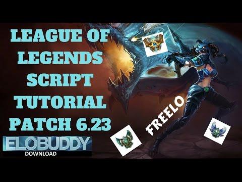 League of Legends Script tutorial (Patch 6.23 December 2016)