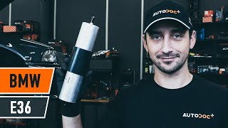 Watch the video guide on BMW 3 (E36) Fuel Filter replacement