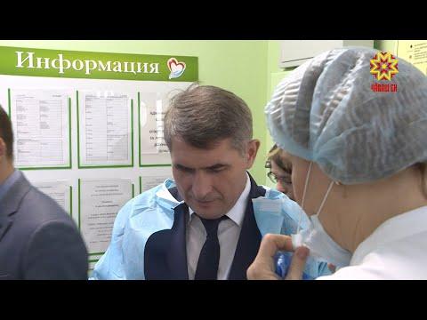 Врио Главы Чувашии Олег Николаев посетил третье акушерское отделение столичной клинической больницы